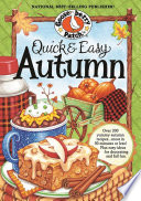 Quick   Easy Autumn Recipes