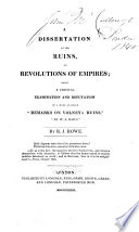 Dissertation on The Ruins  Or Revolutions of Empires
