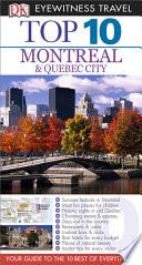DK Eyewitness Top 10 Travel Guide  Montreal   Quebec City