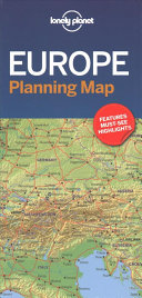 Lonely Planet Europe Planning Map : format, lonely planet europe planning map is your...