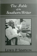 The Fable of the Southern Writer Book PDF