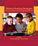 Effective Reading Strategies book