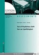 Test of playfulness (ToP)