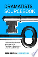 Dramatists Sourcebook