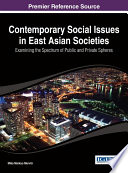 Contemporary Social Issues in East Asian Societies  Examining the Spectrum of Public and Private Spheres
