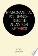 Environmental Pollutants   Selected Analytical Methods
