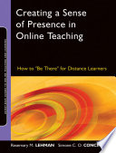 Creating a Sense of Presence in Online Teaching