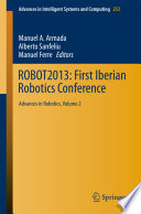ROBOT2013  First Iberian Robotics Conference