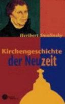 Kirchengeschichte der Neuzeit