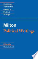 Milton  Political Writings