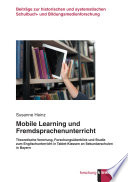 Mobile Learning und Fremdsprachenunterricht