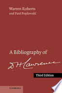 A Bibliography of D  H  Lawrence