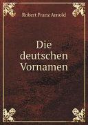 Die deutschen Vornamen