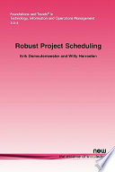 Robust Project Scheduling