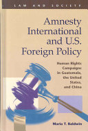 Amnesty International and U S  Foreign Policy
