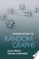 Introduction to Random Graphs