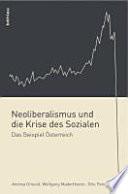 Neoliberalismus und die Krise des Sozialen
