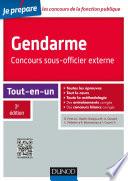 Gendarme - Concours sous-officier externe - 3e éd.