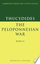 The Peloponesian War book