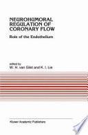 Neurohumoral Regulation Of Coronary Flow
