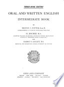 Oral and Written English