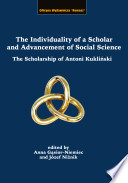 The individuality of a scholar and advancement of social science