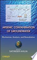 Arsenic Contamination of Groundwater