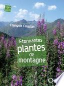 illustration du livre Étonnantes plantes de montagne