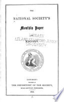 National Society s Monthly Paper