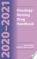 2020 2021 Oncology Nursing Drug Handbook
