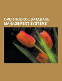 Open Source Database Management Systems