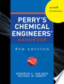 PERRY S CHEMICAL ENGINEER S HANDBOOK 8 E SECTION 4 THERMODYNAMICS  POD