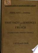 First Facts and Sentences in French
