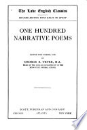 One Hundred Narrative Poems