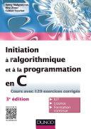 Initiation    l algorithmique et    la programmation en C   3e   d