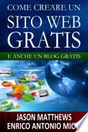 Come creare un sito web gratis  e un blog gratis