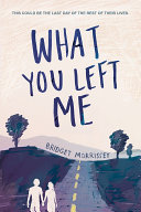What You Left Me This Beautiful And Heartbreaking Novel Told