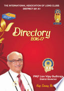 Lions 321A1 District Directory