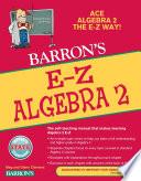 E Z Algebra 2