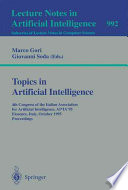Topics in Artificial Intelligence