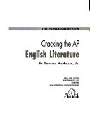 Cracking the AP English Literature  2000 2001 Edition