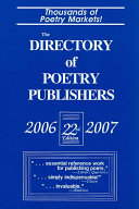 The Directory of Poetry Publishers  2006 2007