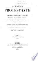 illustration La France protestante