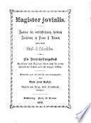 Magister jovialis
