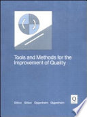 Tools and Methods for the Improvement of Quality