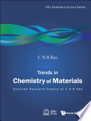 Trends In Chemistry Of Materials book