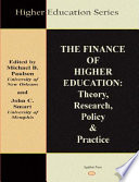 The Finance of Higher Education