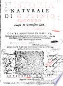 Historia Natvrale Di G  Plinio Secondo