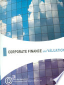 Corporate finance and valuation