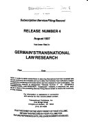 Germain s transnational law research